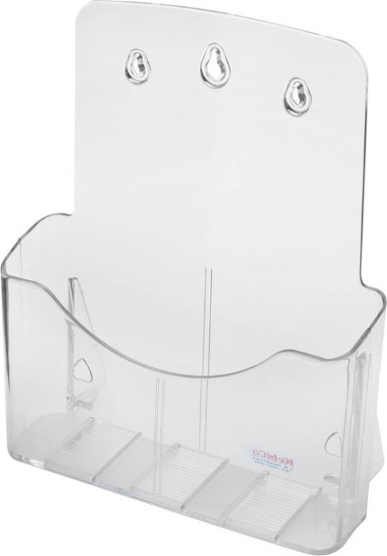 SMKT A4 1 TIER BROUCHER STAND SET OF 2 Clear Name Plate Holder