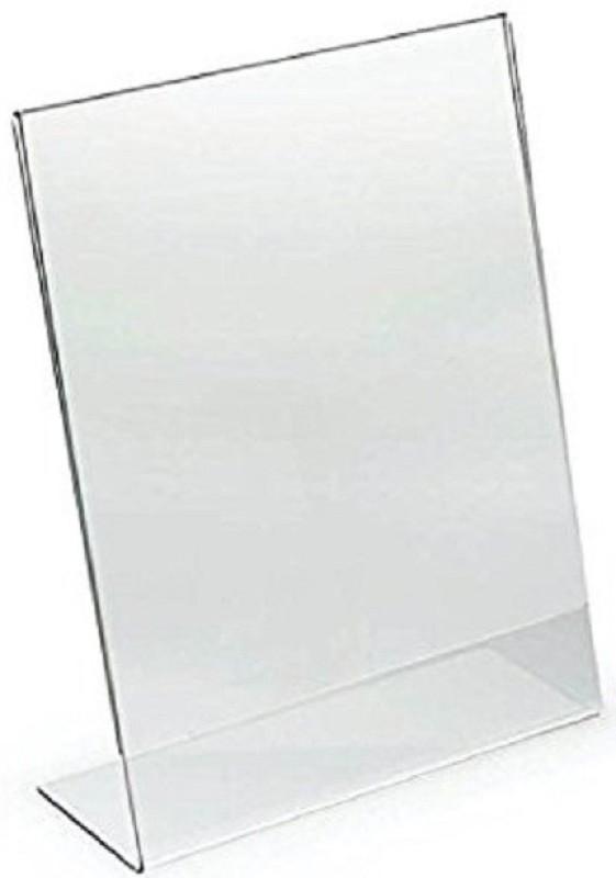 SMKT PRM A4 L SHAPE 3mm 1 PEC Clear Name Plate Holder