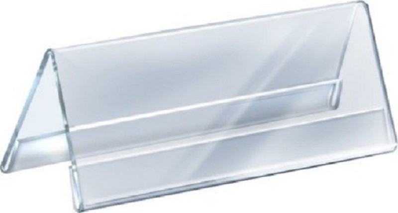 SMKT 8 INCH A SHAPE NP PACK OF 10 Clear Name Plate Holder