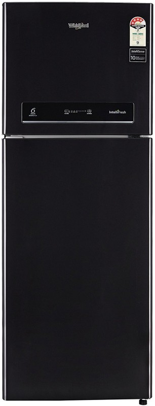 Whirlpool 340 L Frost Free Double Door 4 Star Refrigerator(Caviar Black, IF INV 355 ELT 4S)