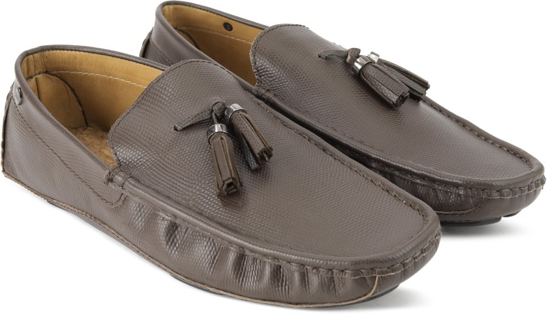 Carlton London CLM-1430 Loafers For Men(Brown)