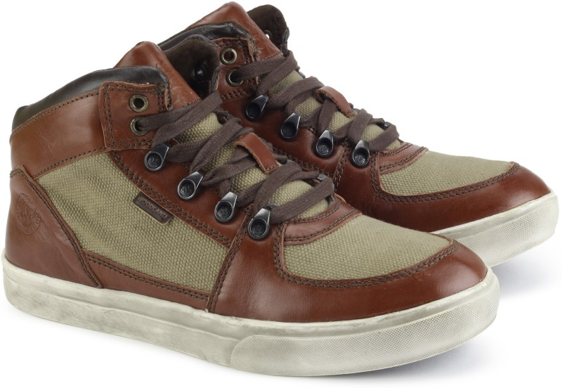 Woodland Boots For Men(Brown, Green)