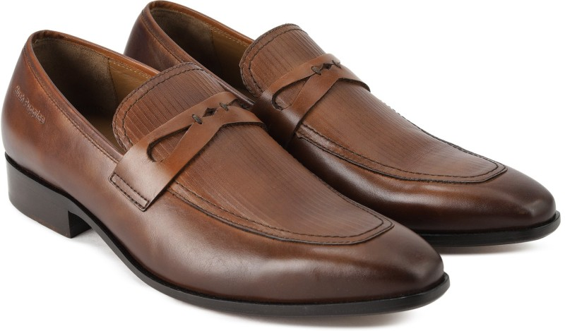 Hush Puppies SPINOZA Slip On For Men(Brown)