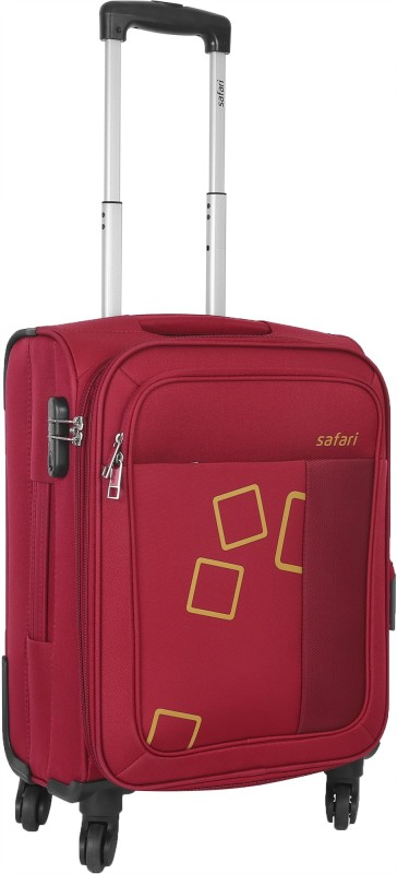 Safari Tetra Expandable Cabin Luggage - 22 inch(Red)