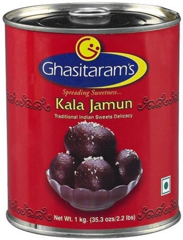 Ghasitarams Traditional Indian Sweets Delicacy of(1 kg, Can)