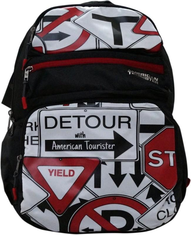 American Tourister TANGO PLUS 02 BLACK 34 L Backpack(Black)