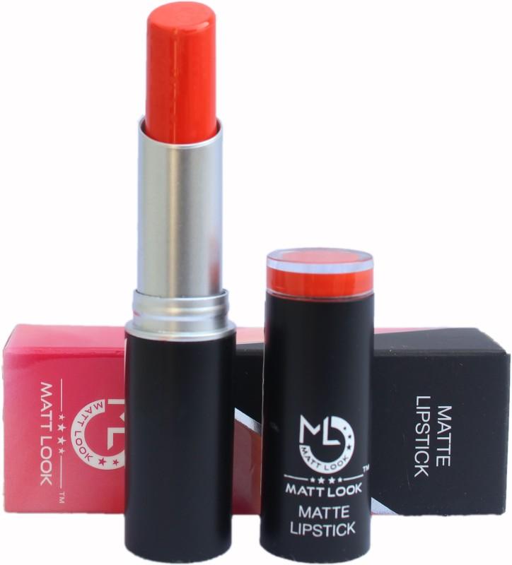 Mattlook Matte Lipstick(Sinful Orange, 3.8 g)
