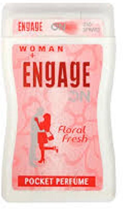 Engage ON WOMEN FLORAL FRESH(18/ml) Eau de Cologne  -  18 ml(For Women) image
