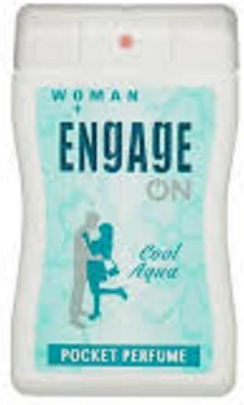 Engage ON WOMEN AQUA COOL(18/ml) Eau de Cologne  -  18 ml(For Women) image