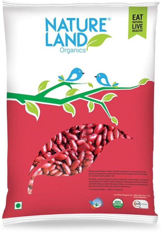 Natureland Organics Red Rajma (Whole)(1000 g)