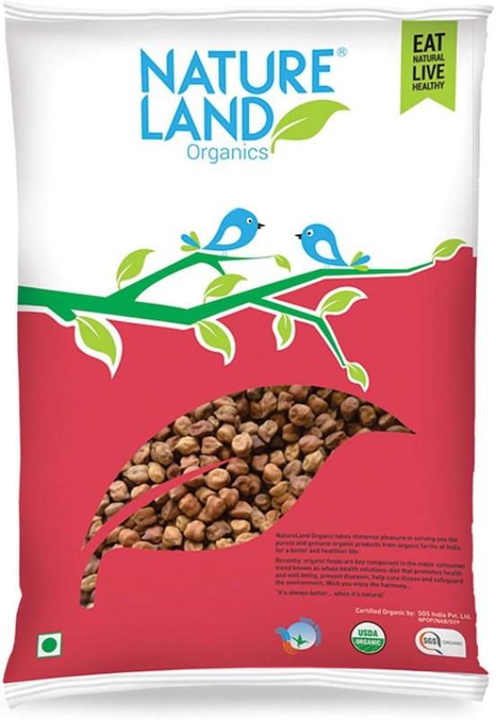 Natureland Organics Black Chana (Whole)(1000 g)