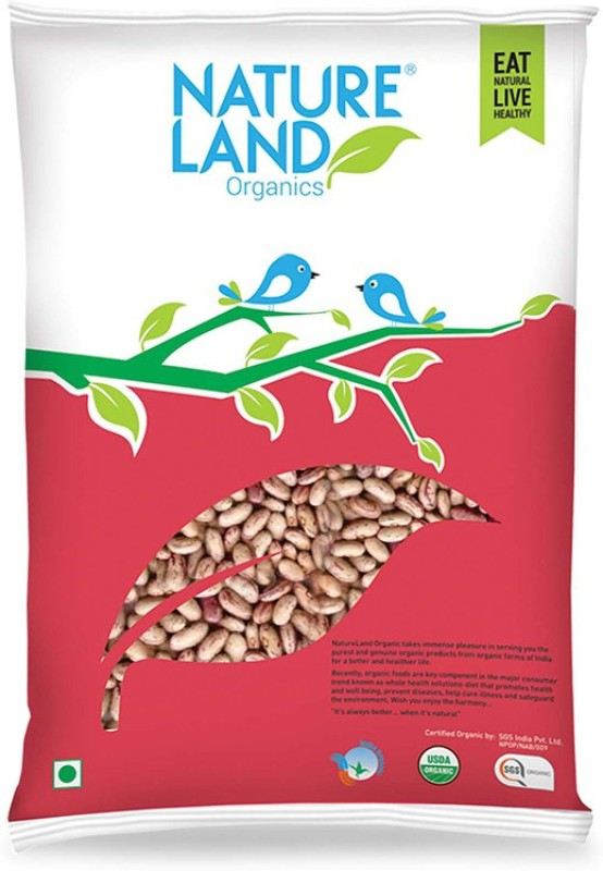 Natureland Organics Rajma (Whole)(1000 g)