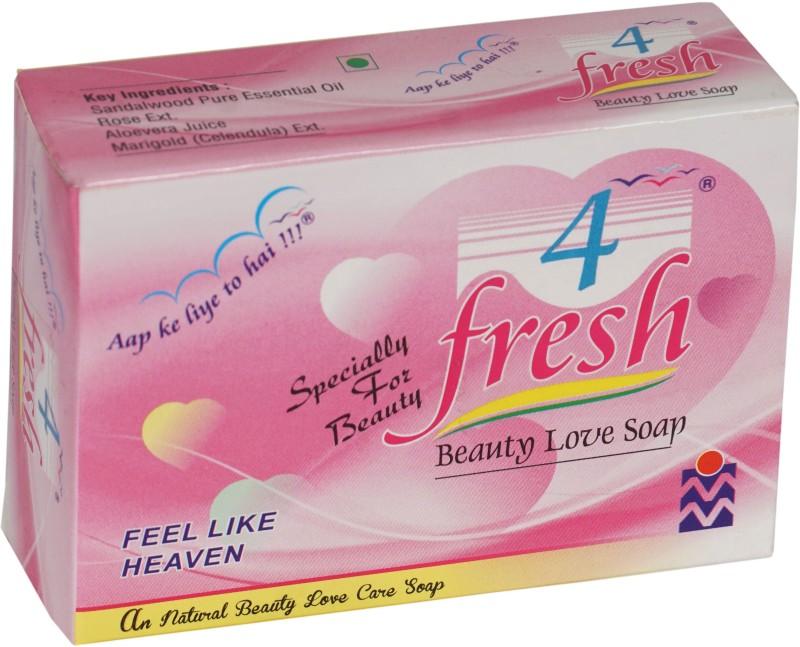 4 Fresh Beauty Love Soap(75 g)