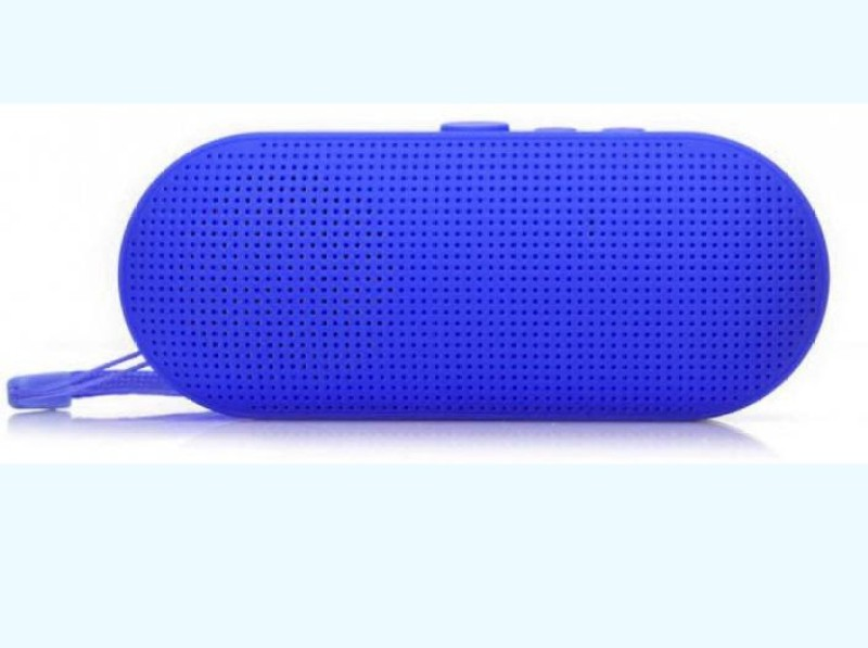 Blue Birds Superior sound quality with premium driven Stereo bass Portable rechargeable wireless Bluetooth speaker TF/FM/USB Supported & in built calling MIC CAR/LAPTOP/HOME AUDIO 5 Bluetooth Speaker(Blue, Stereo Channel)