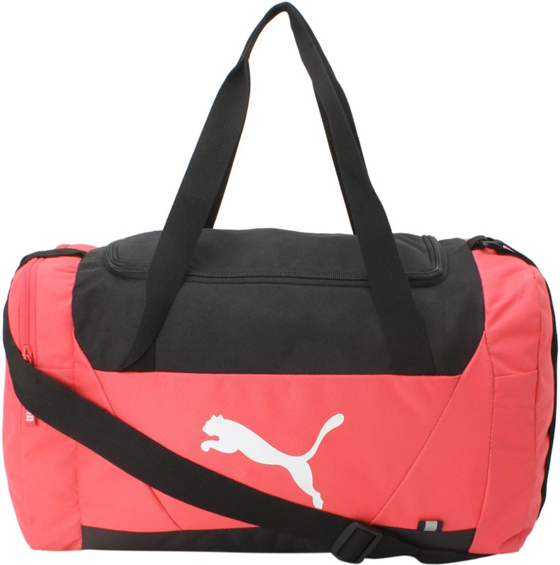Puma Fundamentals Sports Small Travel Duffel Bag(Pink)