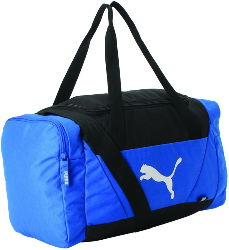 Puma Fundamentals Sports Small Travel Duffel Bag(Blue)