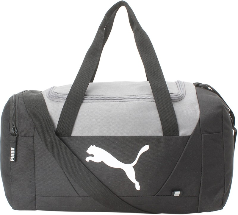Puma Fundamentals Sports Bag XS (Expandable) Gym Bag(Black)