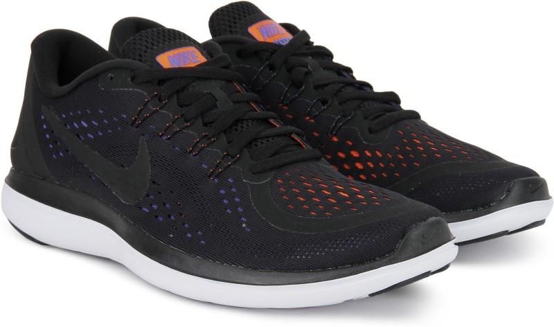 Nike FLEX 2017 RN Running Shoes For Men(Black, Navy)