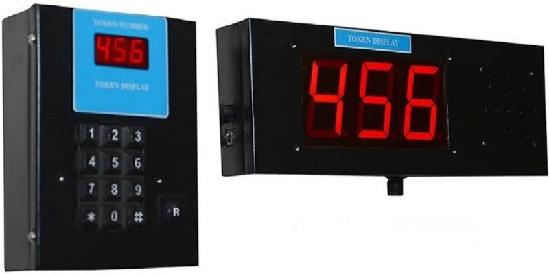 truster Token Display Calling System Card Display Stand(16 cm Wide)