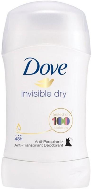 Dove Invisible Dry Stick Antiperpirant Deodorant (Anti-white marks) Deodorant Stick - For Women (40 ml) Deodorant Stick - For Women(40 ml)