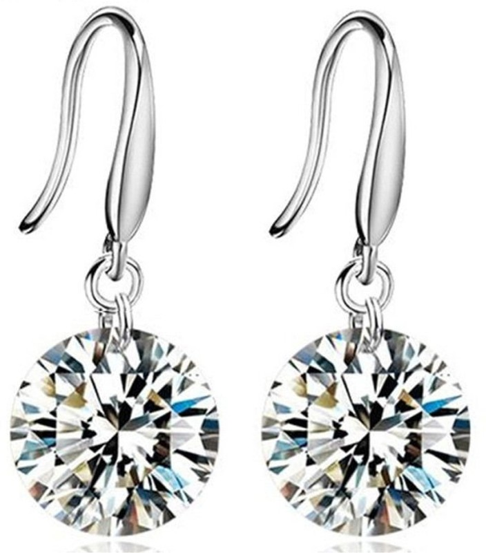 Nakabh Fashion Jewellery Crystal Dangle Smart Dailywear Office Crystal Alloy Stud Earring