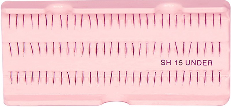 GlamGals Stylish Black Soft Thick Reusable False Eye Lashes For Women(Pack of 1)
