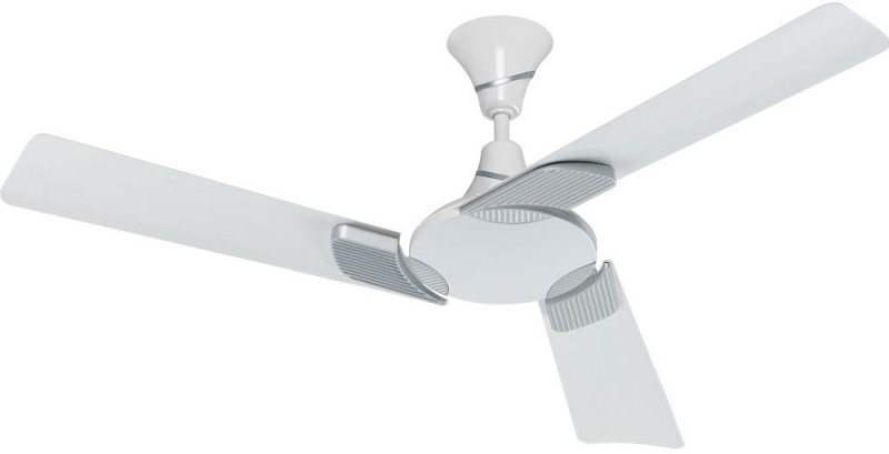 Eveready EENVEE 3 Blade Ceiling Fan(WHITE SILVER)