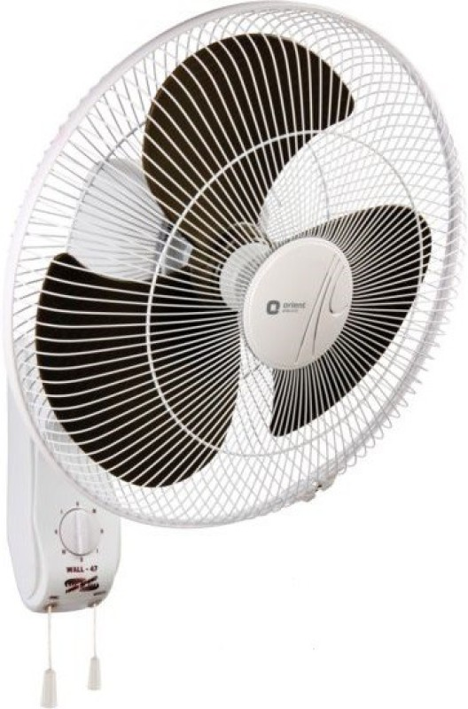 Orient WALL 47 3 Blade Wall Fan(WHITE,GREY)