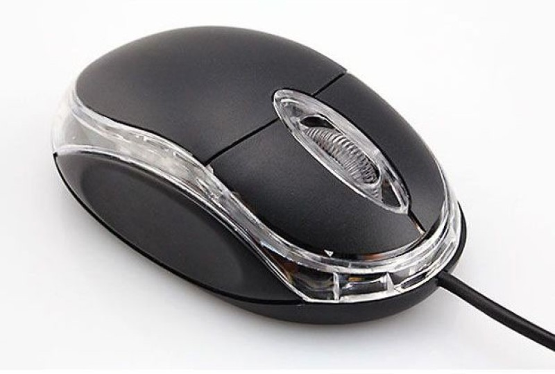 Maanya Teck MT Mouse USB MTM125 Wired Optical  Gaming Mouse(USB 2.0, Black)