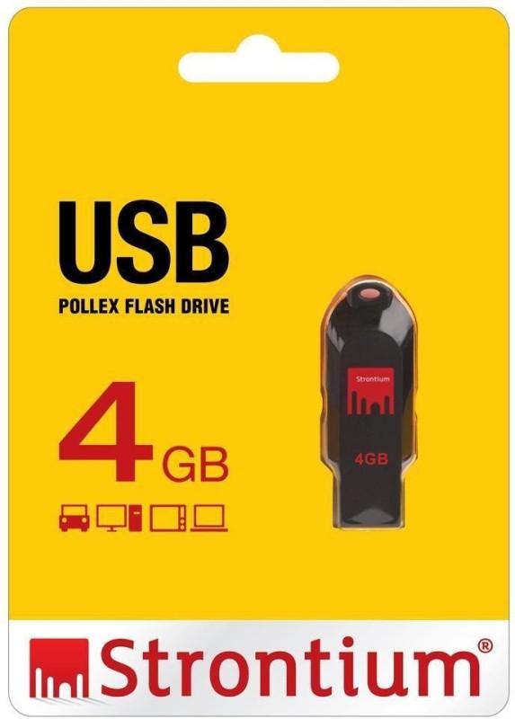 Strontium STR4G 4 GB OTG Drive(Black, Type A to Micro USB)