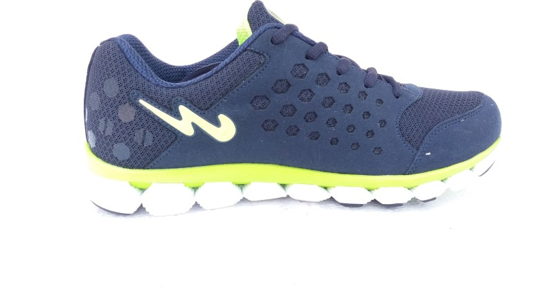 Campus Campus Messy Navy/F.Grn Men Running Shoes Running Shoes For Men(Navy, Green)