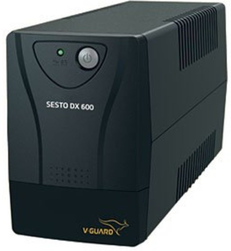 V-Guard SESTO DX 600 ( UPS & BATTERY 2 YEARS V-GUARD ONSITE WARRANTY) SESTO DX 600 UPS