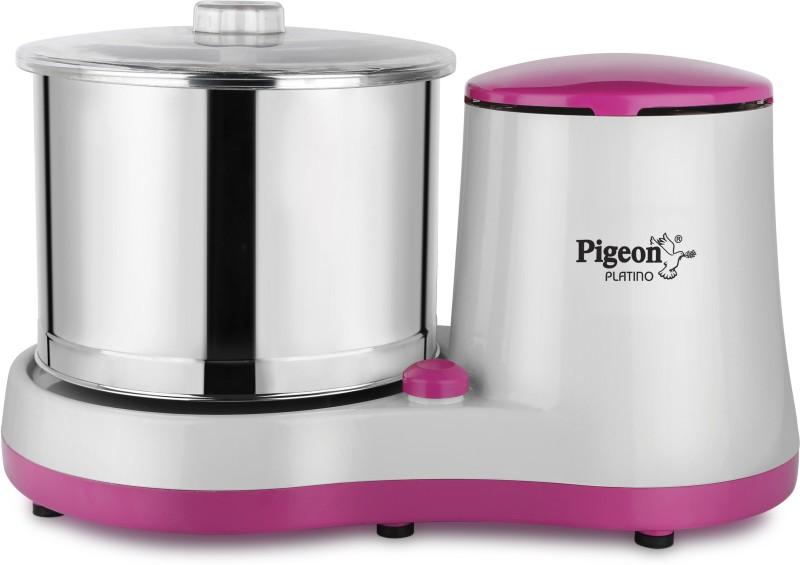Pigeon 12726 Wet Grinder(White, Pink)