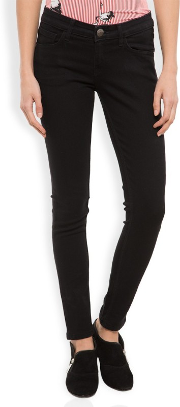Tokyo Talkies Skinny Women Black Jeans