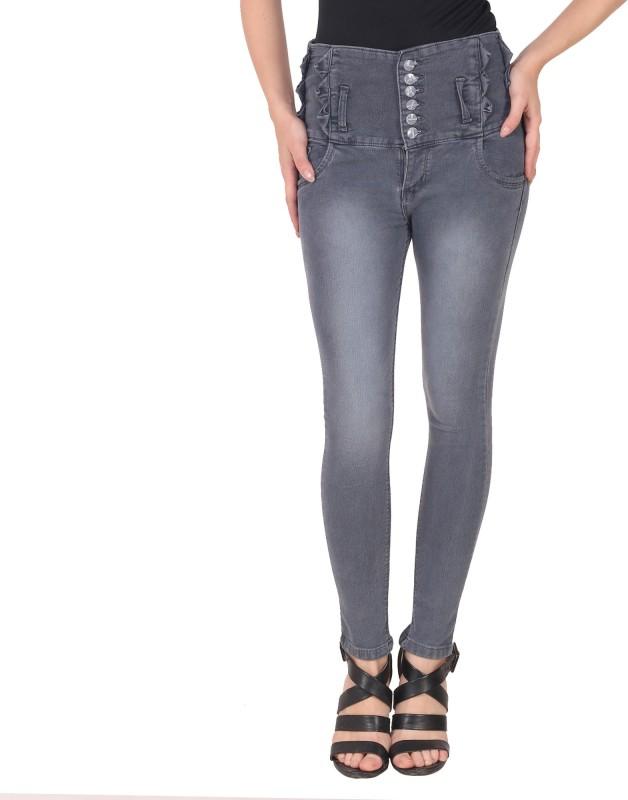 Manash Fashion Slim Women Grey Jeans