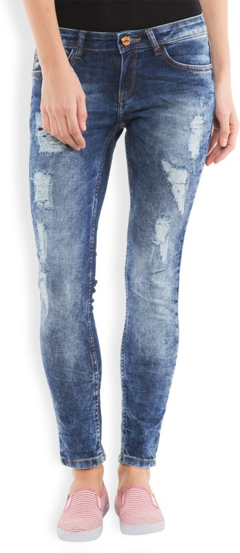 Tokyo Talkies Slim Women Blue Jeans