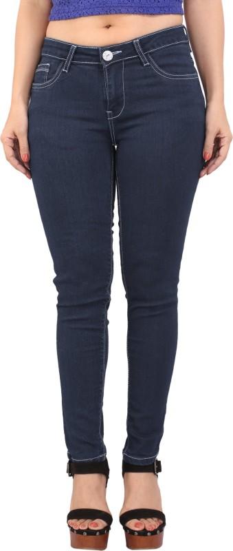 Bombay Casual Jeans Skinny Women's Dark Blue Jeans