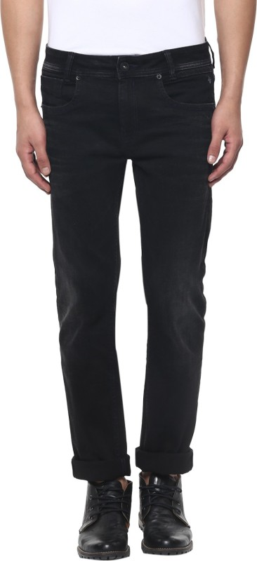 Mufti NARROW Mens Black Jeans