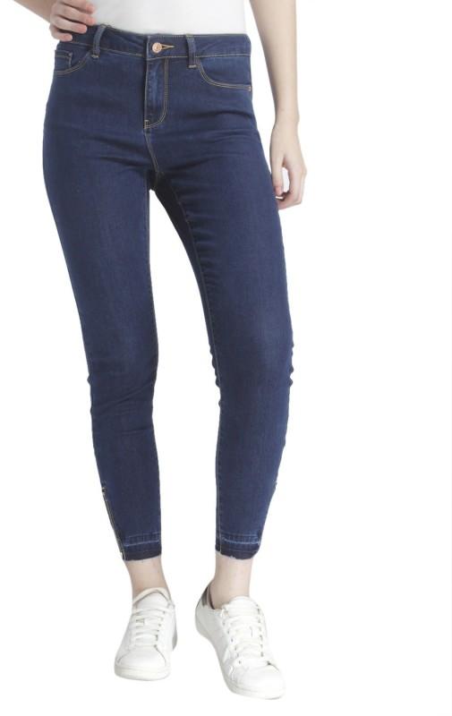 5. Vero Moda Slim Women's Dark Blue Jeans