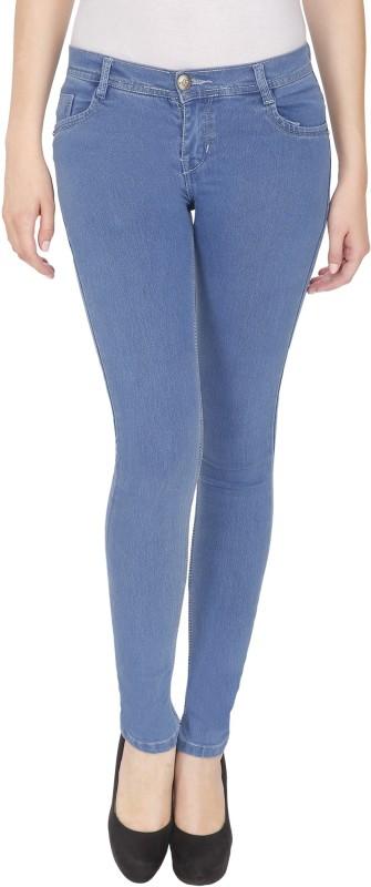 NJ Skinny Women Light Blue Jeans