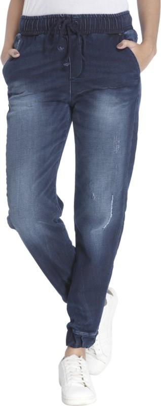 Vero Moda Slim Women Dark Blue Jeans