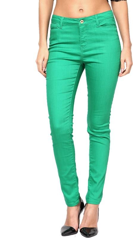Vero Moda Slim Women Green Jeans