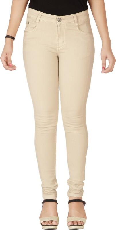 Flirt NX Skinny Women Beige Jeans
