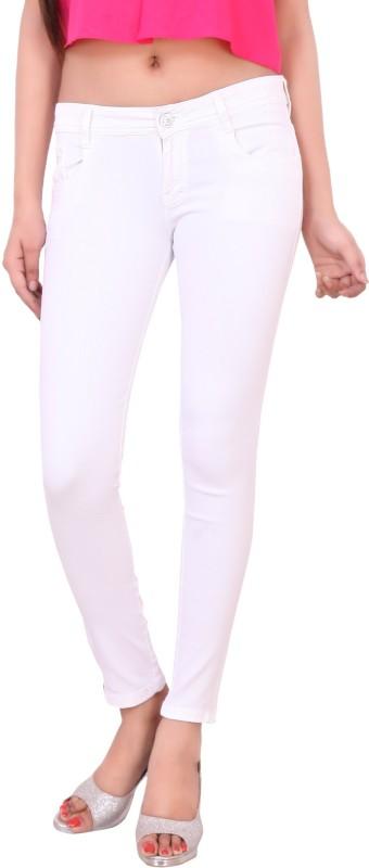 Airways Slim Women White Jeans