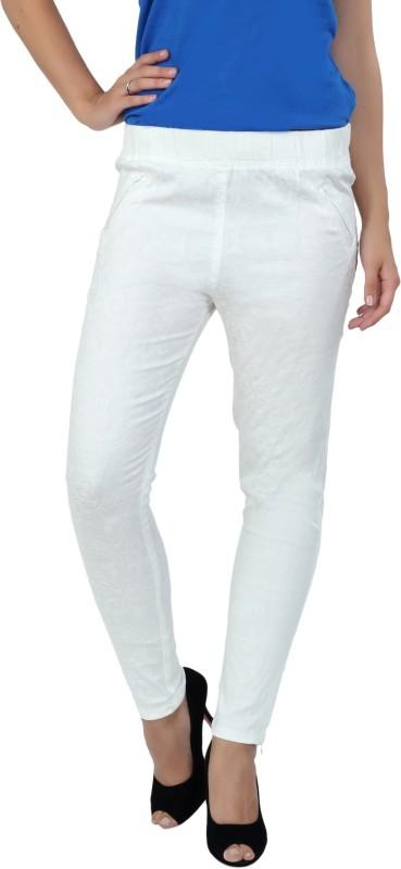 Fashion Stylus Slim Women White Jeans