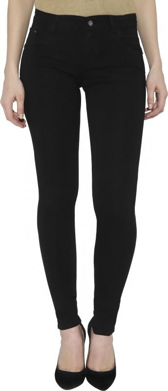 Studio 18 Skinny Women Black Jeans
