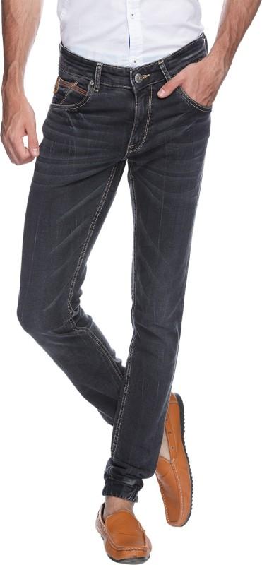 Spykar Skinny Mens Black Jeans