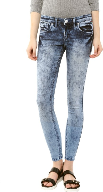 Urban Navy Skinny Women Blue Jeans