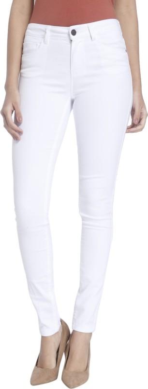 6. Vero Moda Slim Women's White Jeans