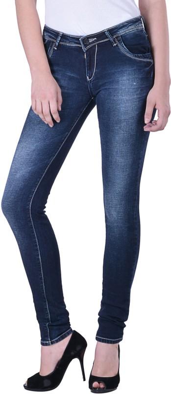 Hoffmen Slim Women Blue Jeans